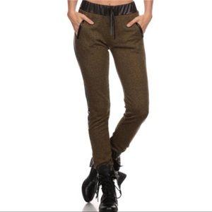 Pants - Olive Joggers
